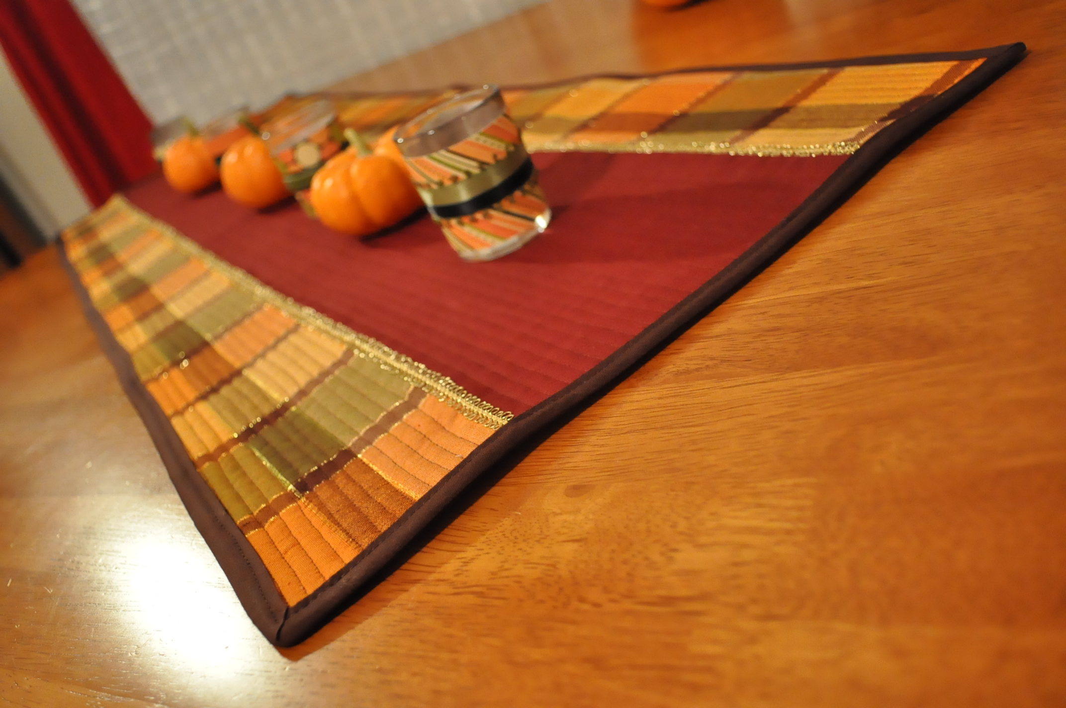 Thanksgiving Table Runner Coffee Amp Corduroy